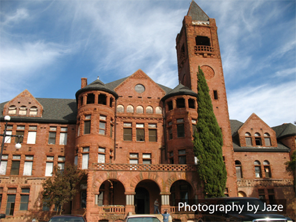 Amador County Ione Ca PRESTON Castle Building Photography